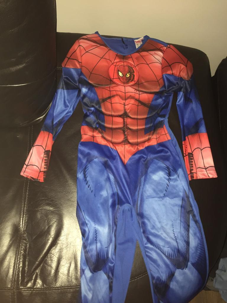 Spider-Man costume age 7-8