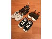 Baby Boy Shoes inc Vans