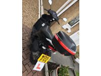 Suzuki Address 110cc Black moped, 12 months MOT