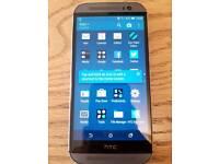 HTC one m8 unlocked 16gb