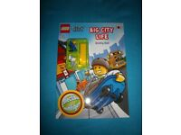 New Lego City Big City Life Activity Book & Mini Figure IP1
