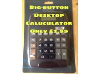 Large Big Button & Display Calculator - Only £2.99