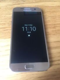 SAMSUNG GALAXY S7 64GB GOLD UNLOCKED