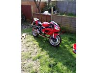 Chinese import sprots bike 125cc spring project or for parts
