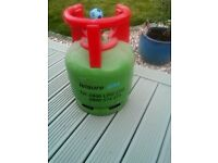 empty flogas leisure LP gas canister