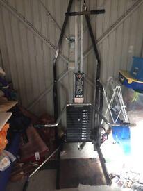 York 2001 weight machine