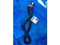 Oxford HD Heavy Duty Chain & Padlock 2m long 10mm square link chain, 3 key, brand NEW