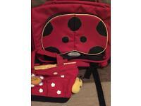 Samsonite kids satchel / caterpillar bag