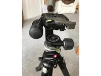 Manfroto 190xprob Tripod with 460mg Head, Quick Release Plate and Carry Bag