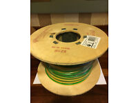 PRYSMIAN 10MM EARTH CABLE FOR BONDING 100 METRE DRUM 6491X UNOPENED