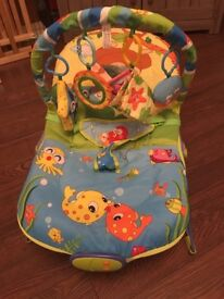 Baby Bouncer musical and vibrating