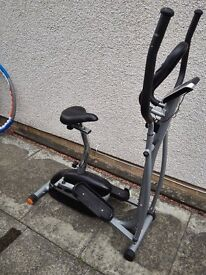 V-Fit Cross Trainer and Exercise Bike