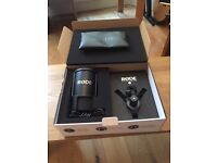 RODE NT-USB Microphone Perfect condition