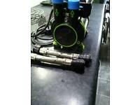 Shower water pump