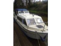 Canal boat 32f viking