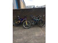 Adult Suspension Mountain Bikes