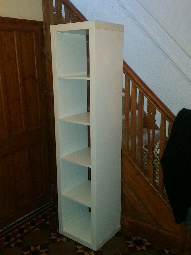 ikea kallax 5x1 white shelving unit. vgc. can deliver | in coventry