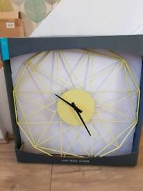 Marks and Spencer loft wall clock