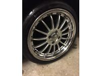 Fox RS Alloy Wheels