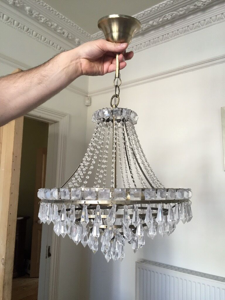 Crystal chandelier john lewis light fitting in henleaze crystal chandelier john lewis light fitting arubaitofo Choice Image