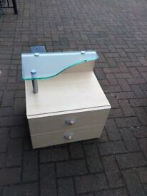 GAUTIER BEDSIDE TABLES/DRAWERS X 2