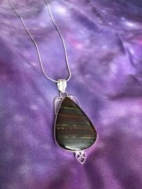 Pendent and silver chain