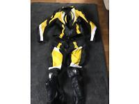Motorbike leathers.