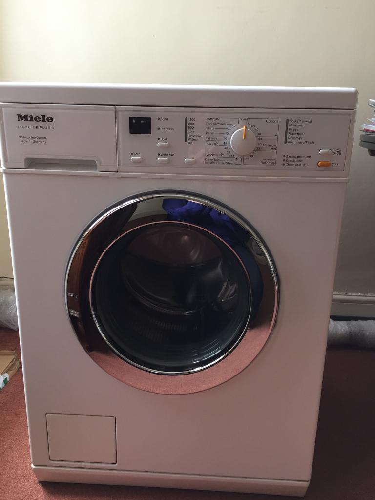 miele w562 prestige plus 6 washing machine in gillingham. Black Bedroom Furniture Sets. Home Design Ideas
