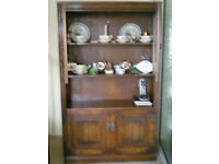 Old Charm bookcase/cupboard