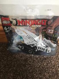 Brand new The ninjago movie Lego packs