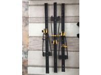 AUTOMAXI ROOF BARS ROOF MOUNTED SINGLE IN BLACK COLOUR BIKE CARRIER
