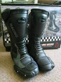 Kids motorcycle boots size 34 UK 1.5