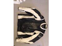 Alpinstars XXL leather motorbike jacket