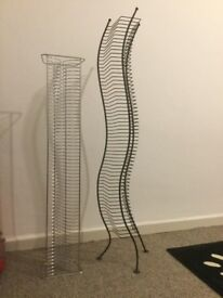 CD racks (two different styles)