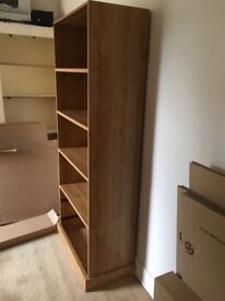 Wooden bookshelf -£15 -for collection today!