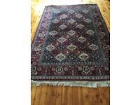Lovely handmade cotton rug