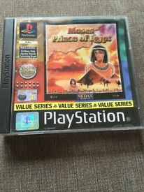 Moses Prince Of Egypt (PS1)