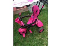 Smart trike pink flamingo