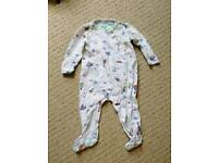 Ted Baker 6-9 month sleepsuit