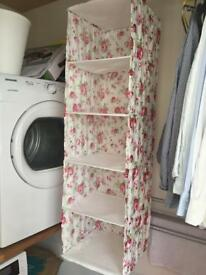 Ikea Skubb hanging shelf organiser for wardrobe