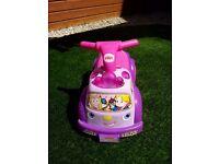 Fisher price princess ride on toy