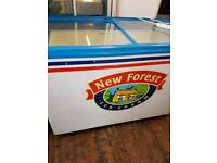 😎commercial displays chest freezer p w o free delivery