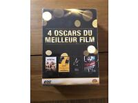 Coffret of 4 French DVDs (classic movies) - new