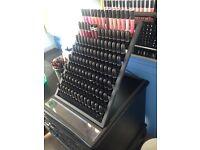Rare Authentic Mac Lipstick Ex Display Holder Unit