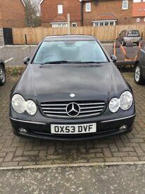 Mercedes Benz CLK Avantgarde Auto 2.7 £2500 ONO