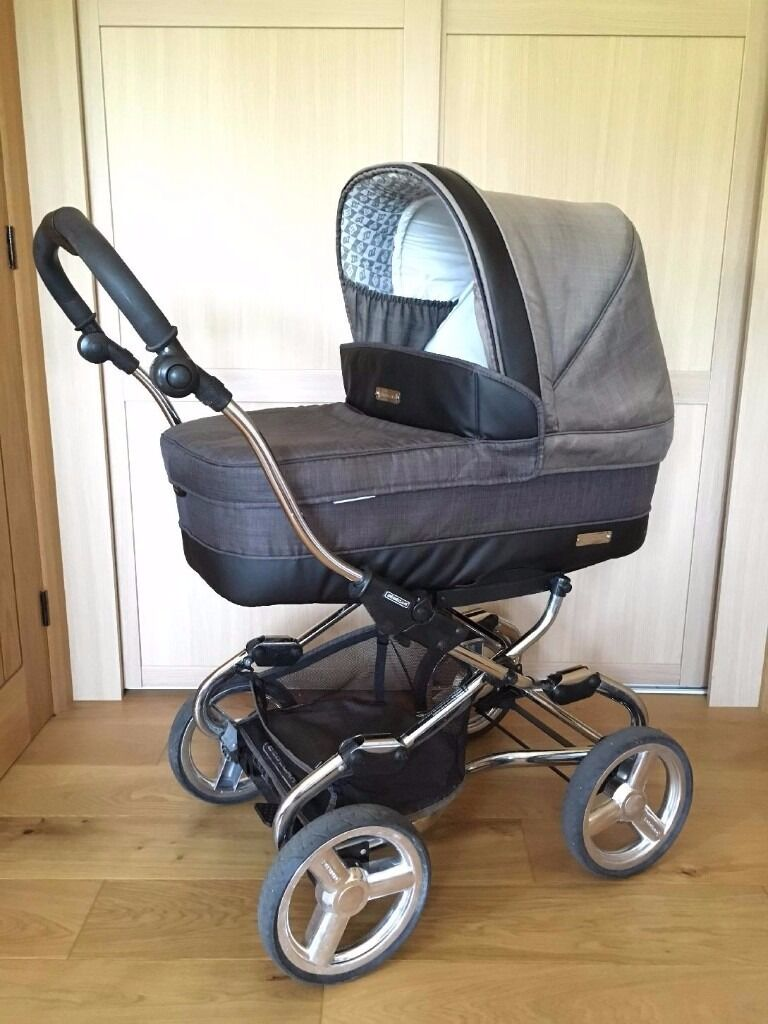 Bebecar Stylo baby pram, pushchair and car seat with two chassis