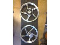 New Kawasaki wheels for Zepher 550