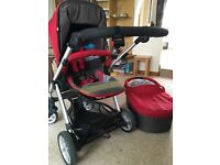 Mamas & Papas Sola stroller and carry cot