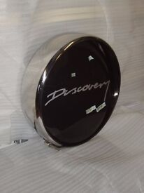 Stainless Steel Land Rover Discovery spare wheel cover