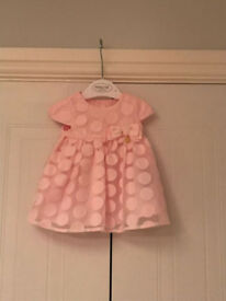 Baby Girl Mayoral Dress, Newborn. Like New worn once for a wedding. From Smoke Free Home.